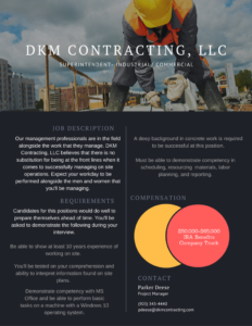 DKM Contracting, LLC